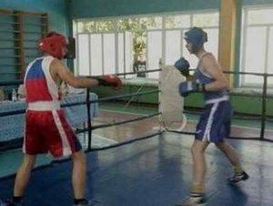 Соревнования по боксу в Макеевке среди студентов ДНР