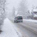 Сложные погодные условия в Макеевке 4 января 2019