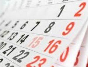 Праздничные и выходные дни в Макеевке - календарь на 2019 год