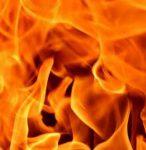 Пожар в Ясиноватой