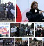 В Макеевке открыли сквер «Русская весна»