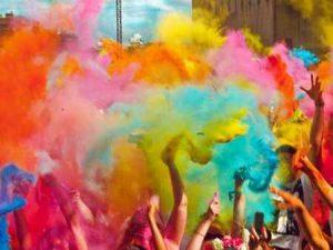Фестиваль красок в Макеевке, 19 июля 2019 года