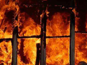 Мужчина погиб во время пожара в Макеевке 7 июля 2019 года