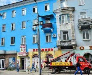 Покраска и ремонт фасадов в Макеевке 2019