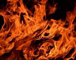 На пожаре в Макеевке погиб мужчина 1947 года