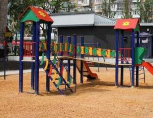 В Макеевке открыли новые игровые площадки ко дню защиты детей