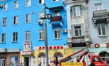 Покраска и ремонт фасадов в Макеевке