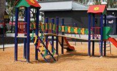 В Макеевке открыли новые игровые площадки